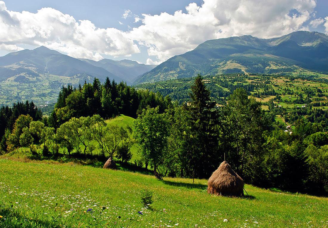 Горы Пьятра-Крейулуи