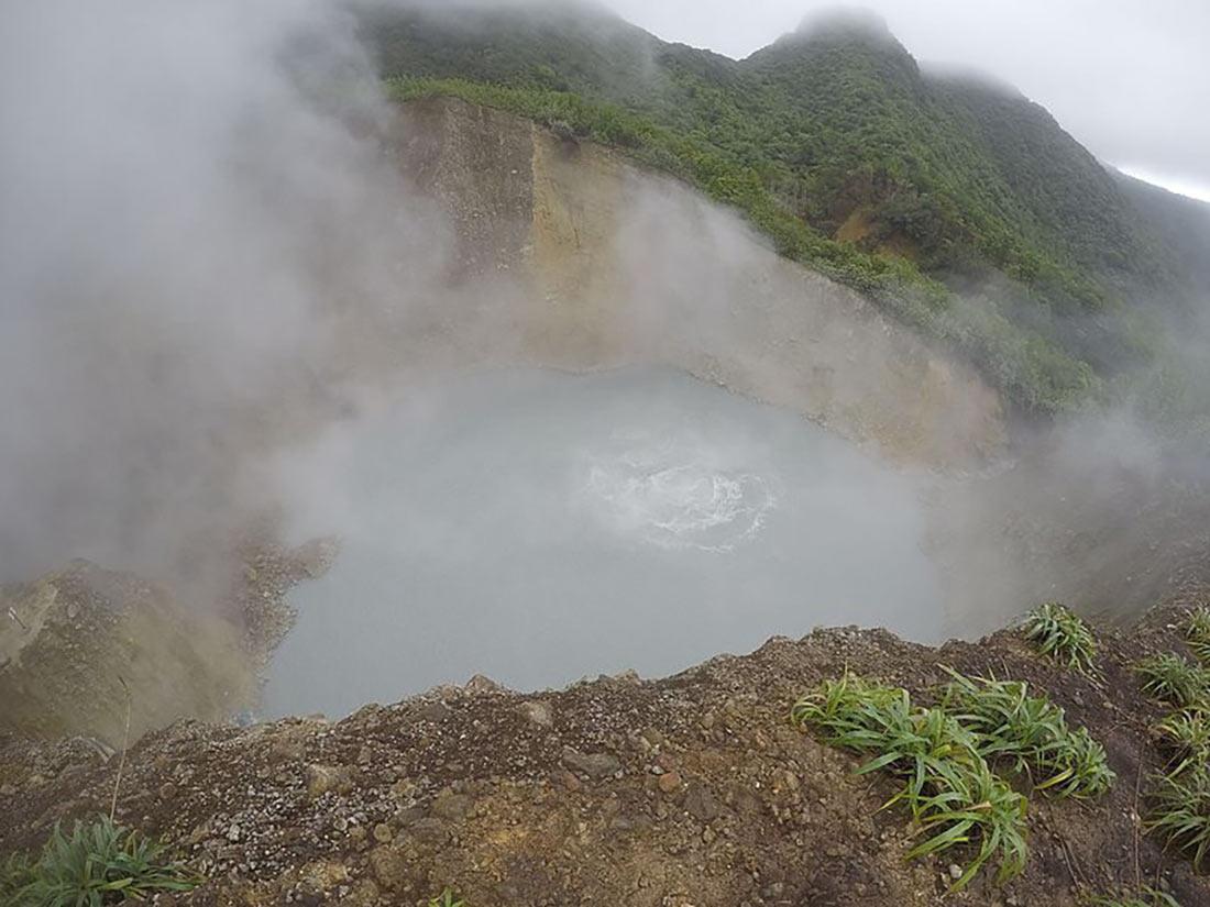 Кипящее озеро