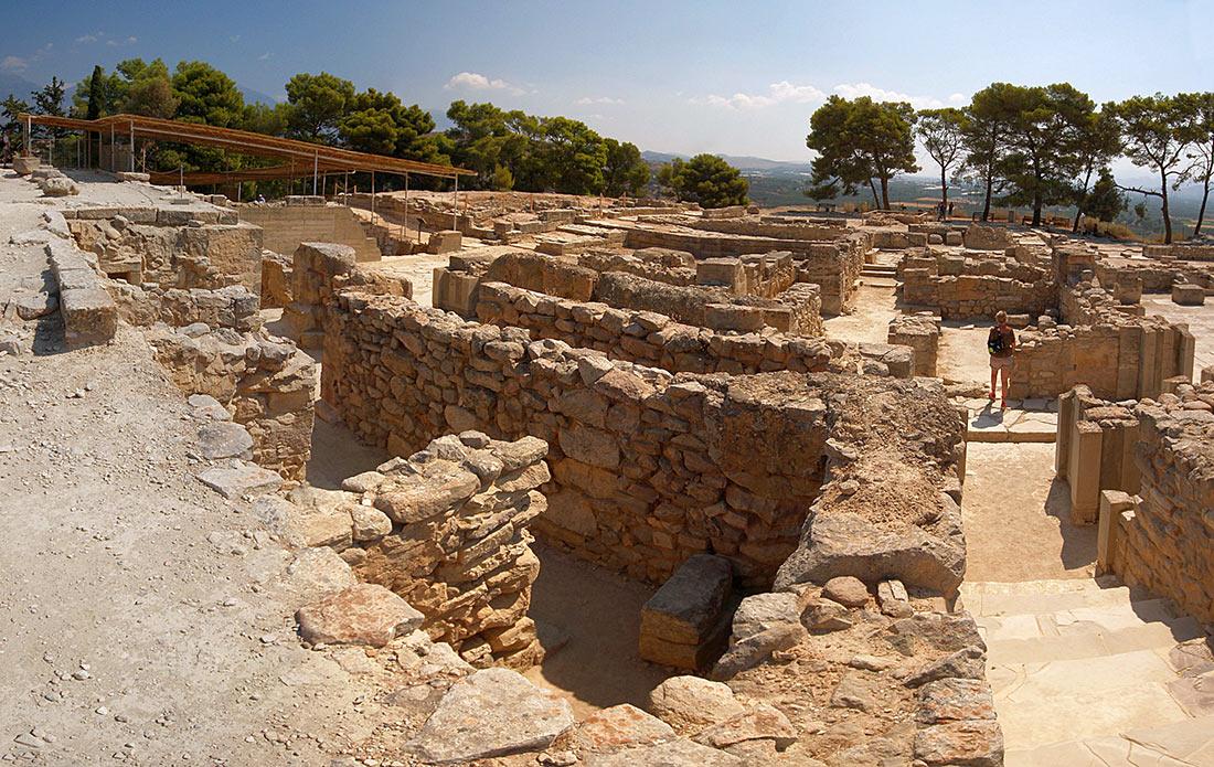 минойский дворец на Крите