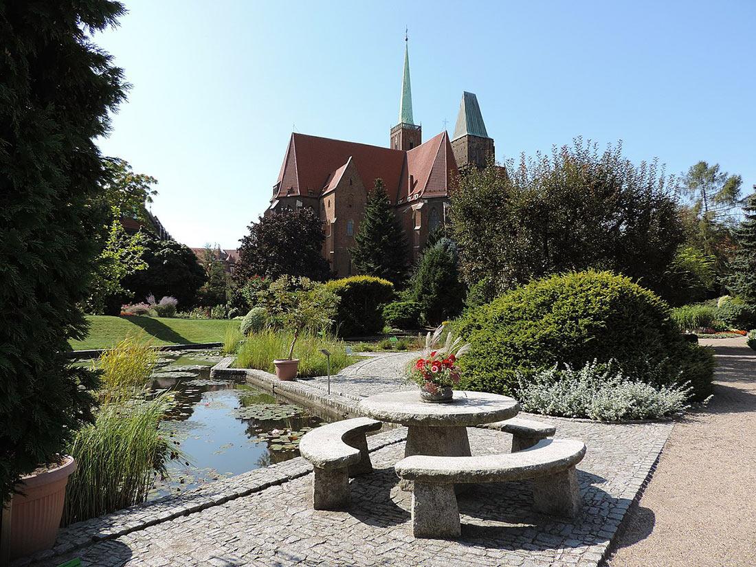 Университетский ботанический сад Вроцлав