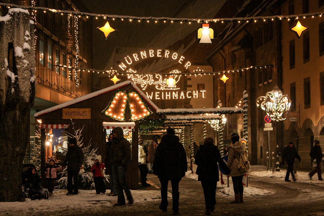 Нюрнберг зимой