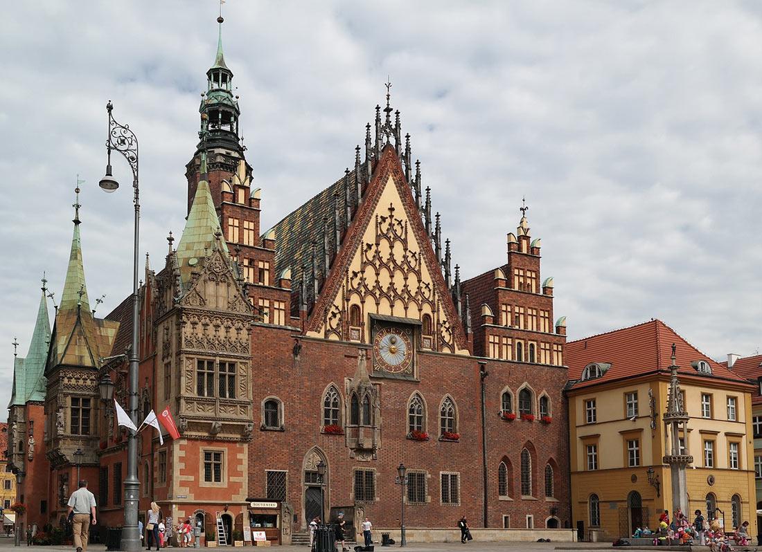Старая ратуша Вроцлав