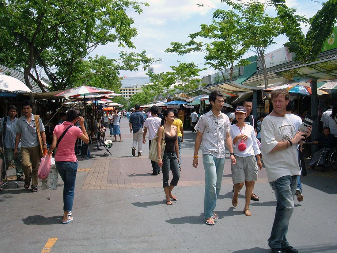 Рынок выходного дня Чатучак
