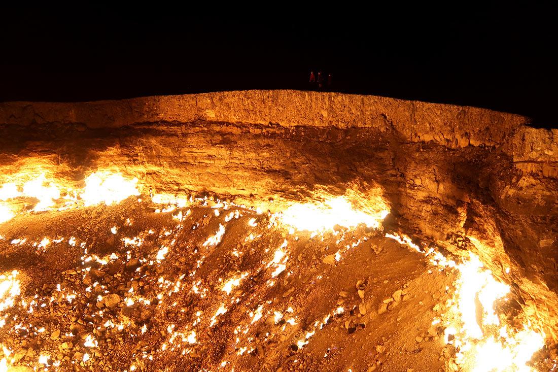Газовый кратер Дарваза