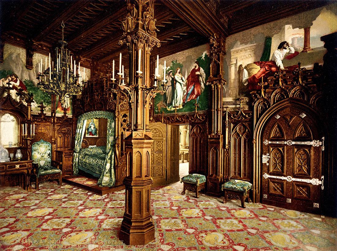 Замок Нойштванштайн