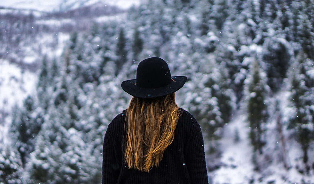 путешествие зимой