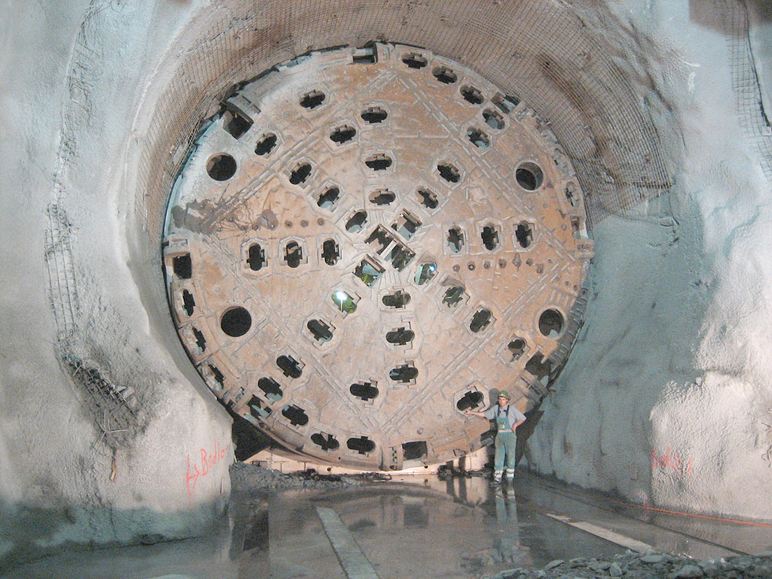 Готардский базисный тоннель