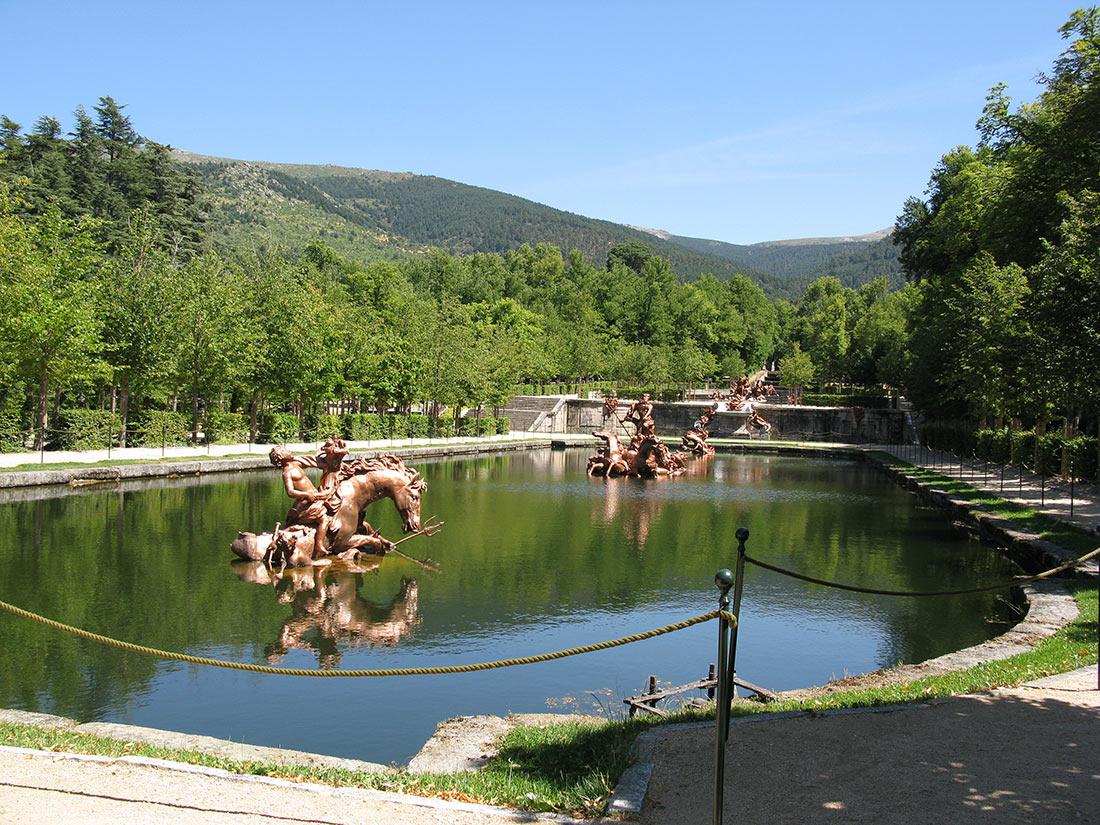 Ла Гранха-де-Сан-Ильдефонсо