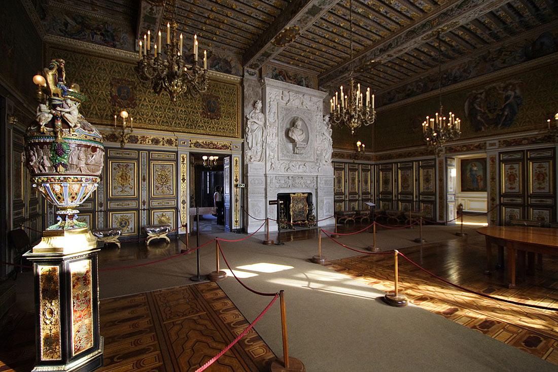 дворец Фонтенбло
