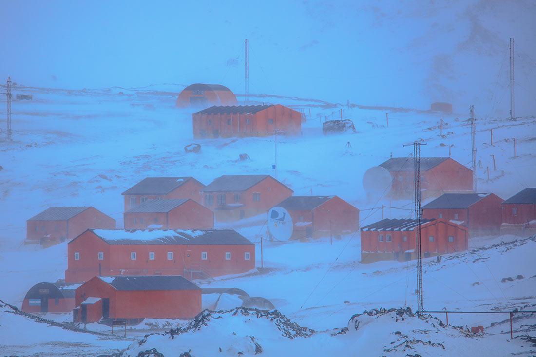 ветры в Антарктиде