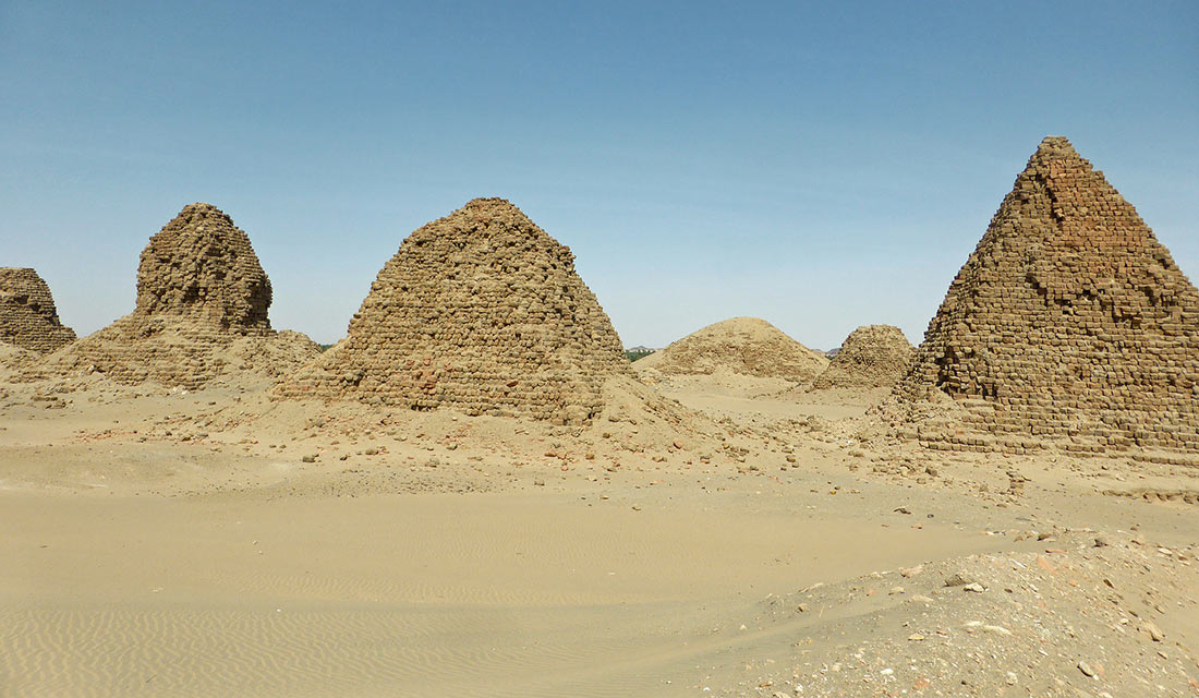 пирамиды Судана