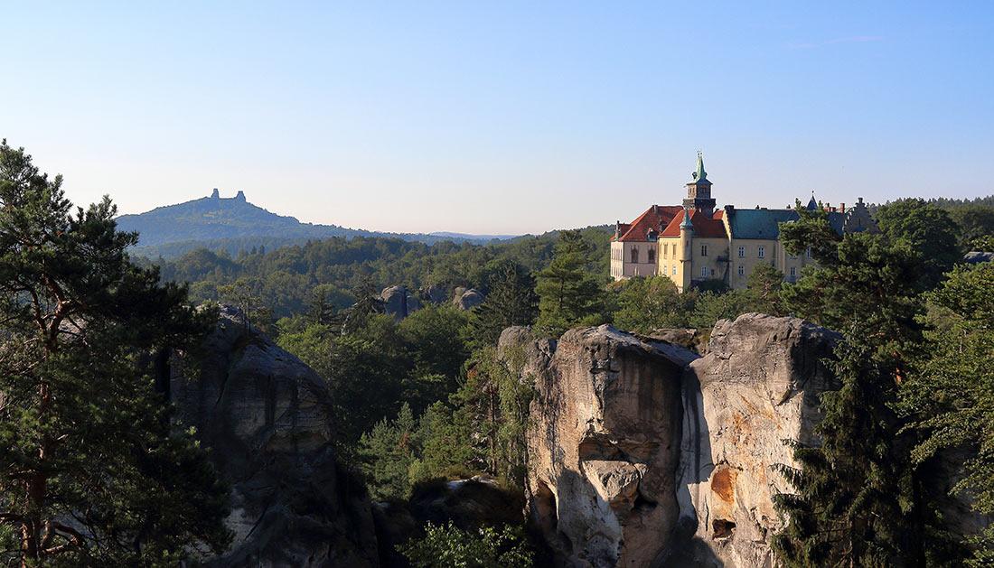Заповедник Чешский рай