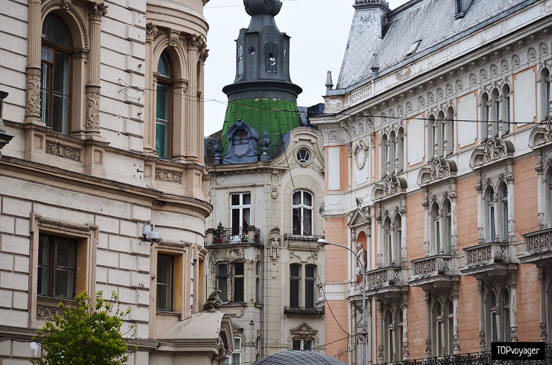 Старый город Львова