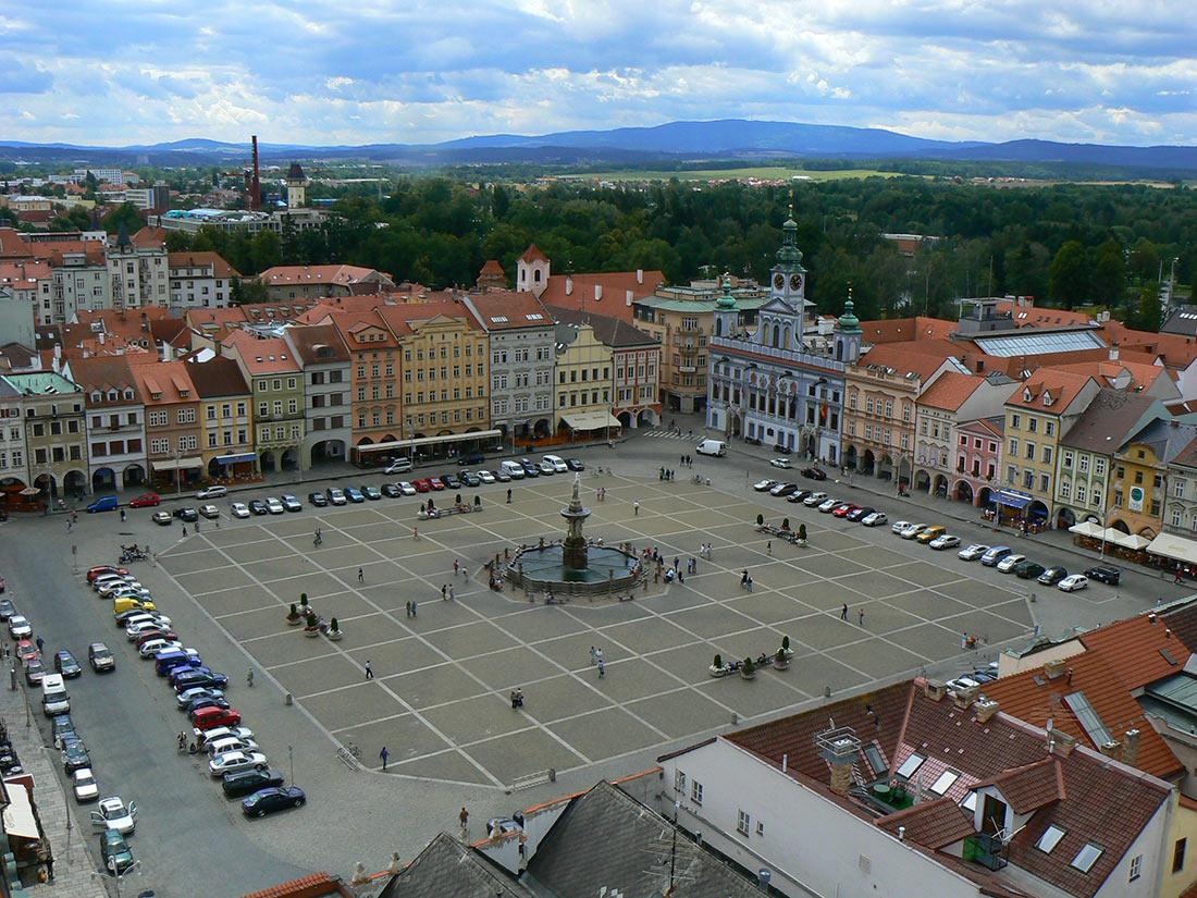 Че́ске-Бу́деёвице