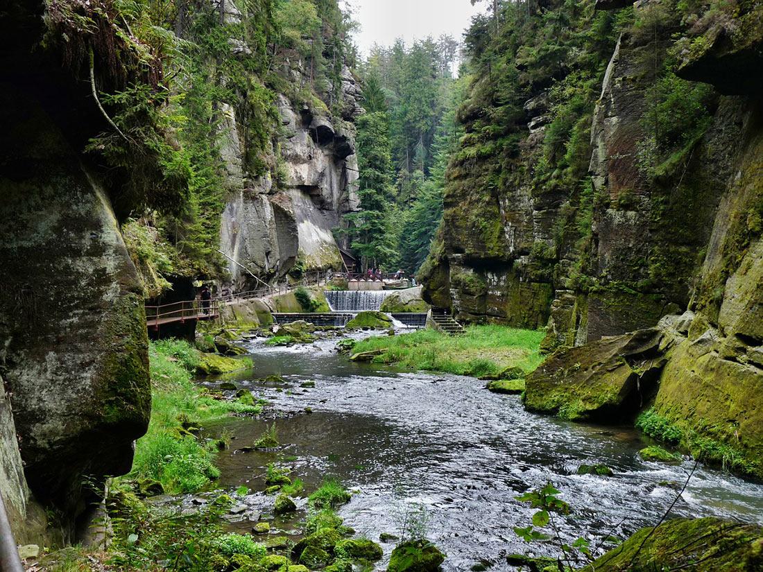 Национальный парк Чешская Швейцария