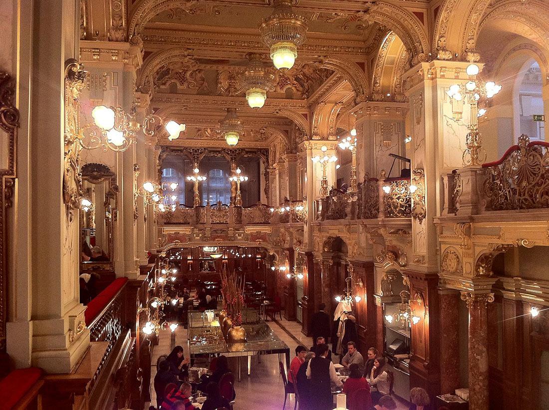 Кафе Нью-Йорк в Будапешт