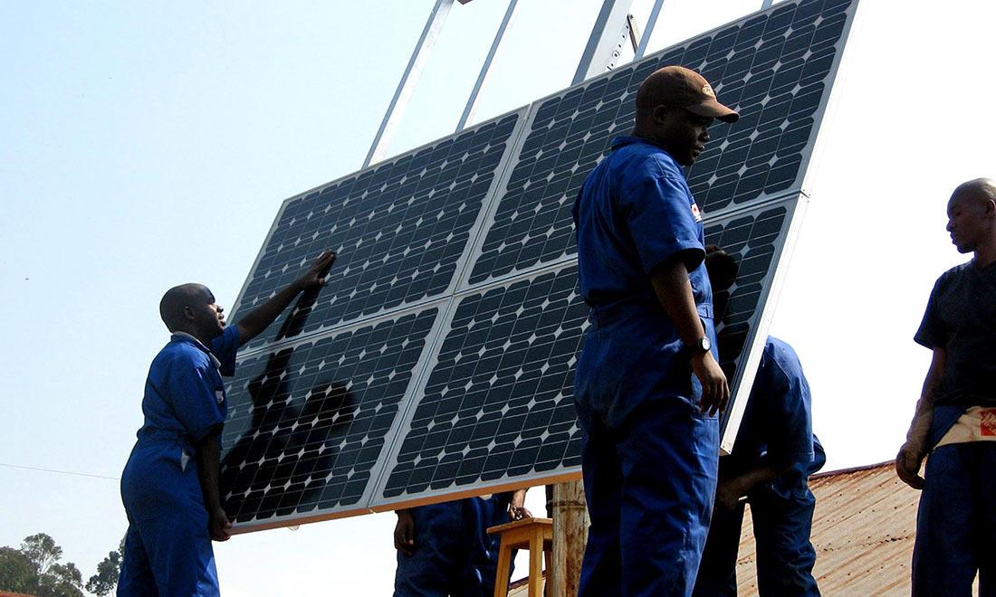 технический прогресс в Африке