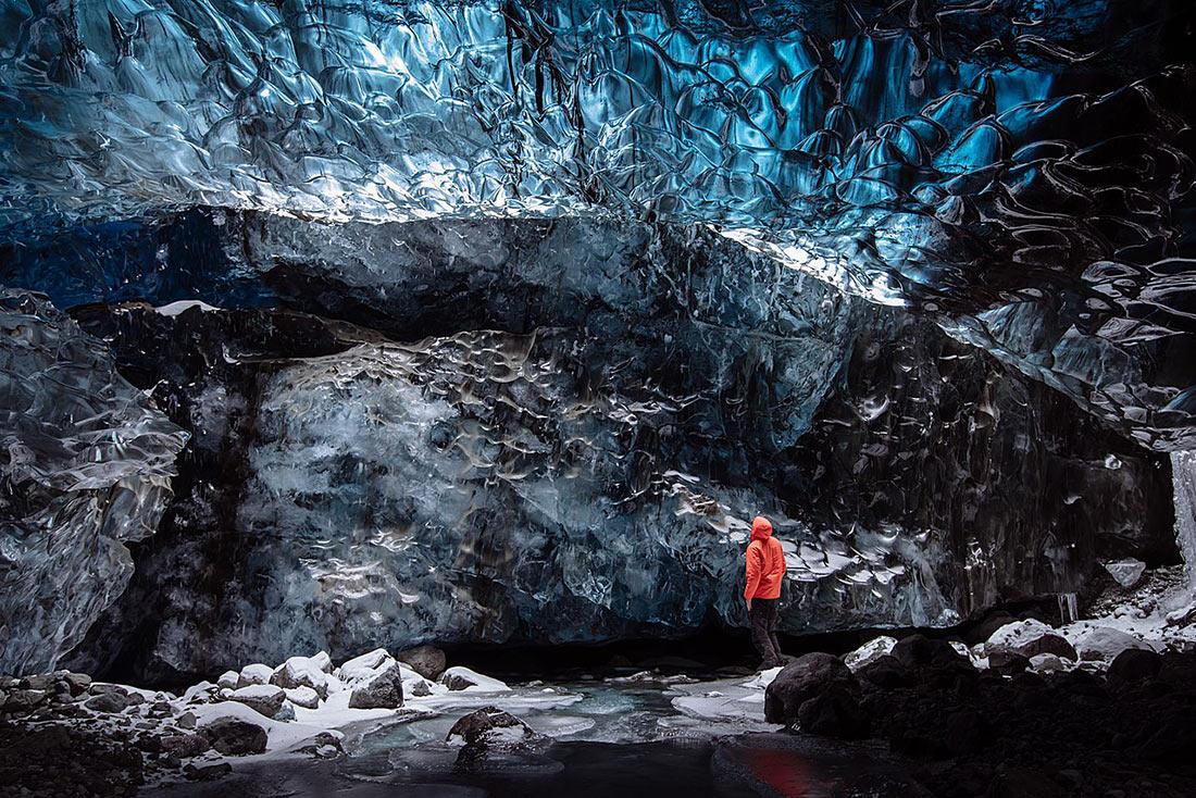 Ледяные пещеры Ва́тнайёкюдль