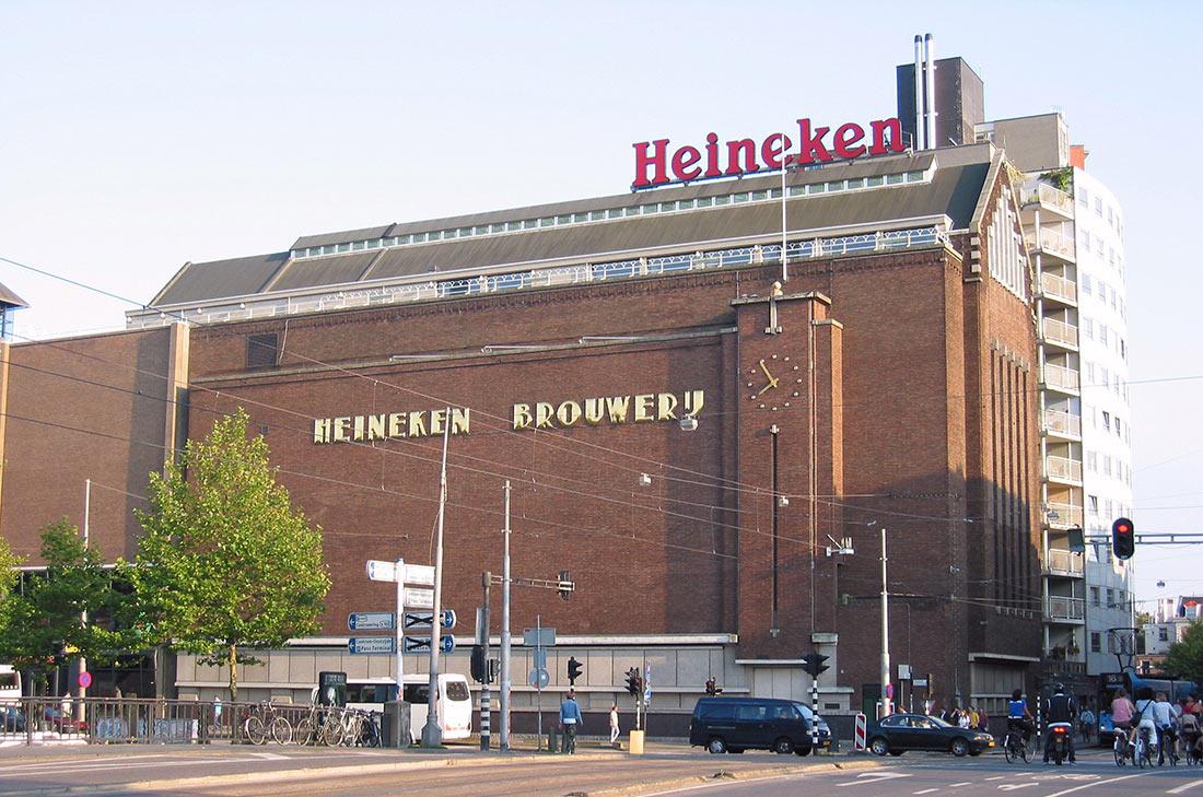 пивоварня Heineken в Амстердаме