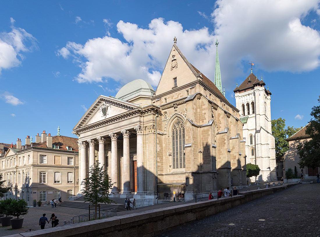 Собор Сен-Пьер в Женеве