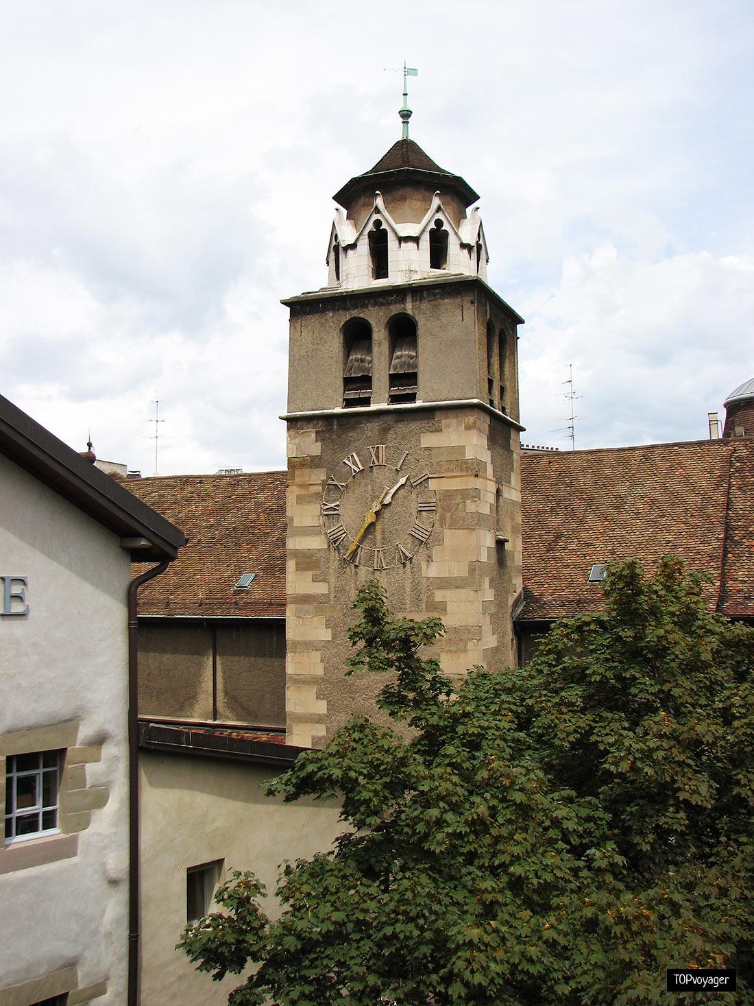Старый город Вьей Виль в Женеве