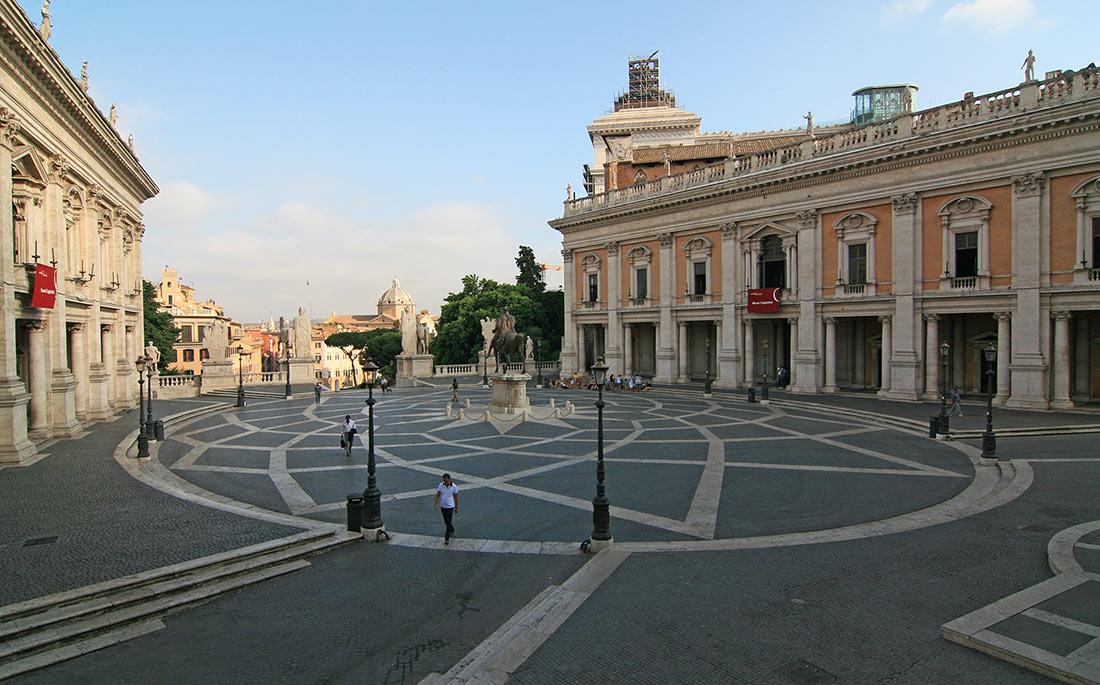Капитолийская площадь (Piazza del Campidoglio)