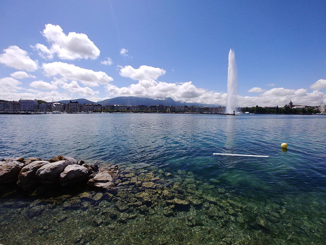 Бани под открытым небом в Женеве