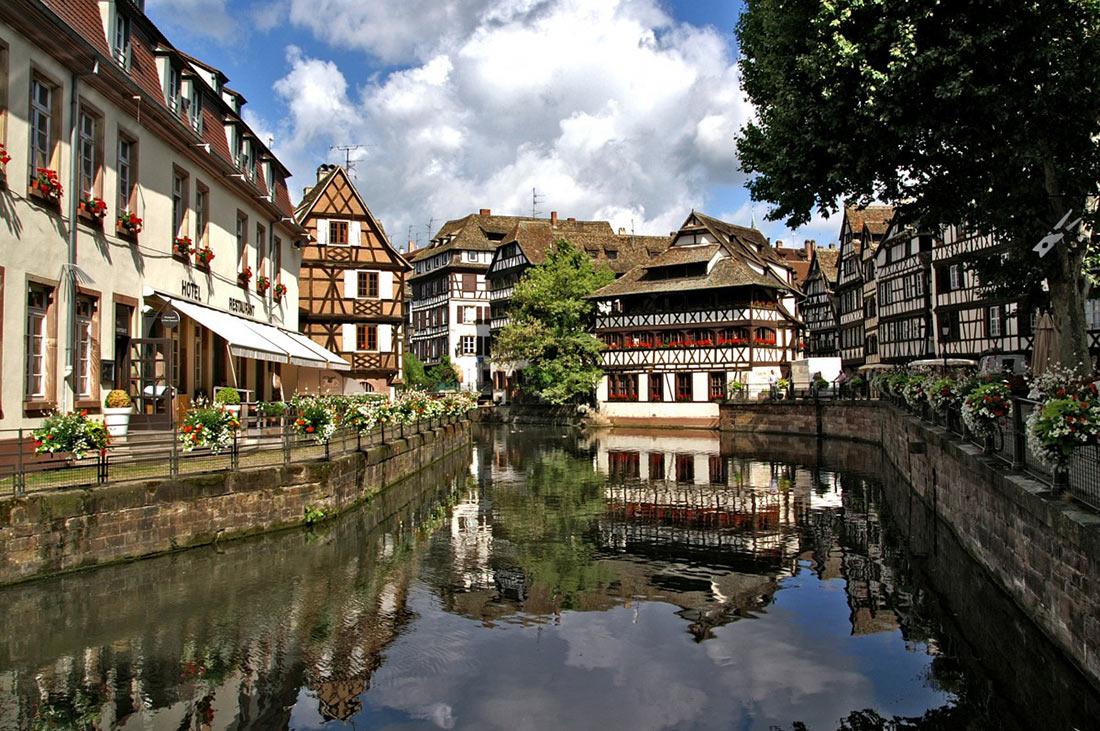 Старый город Страсбурга