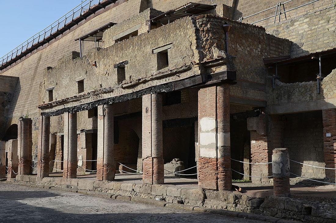 Руины Геркуланума