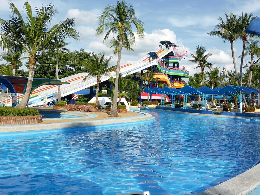 Тематический парк DreamWorld в Таиланде