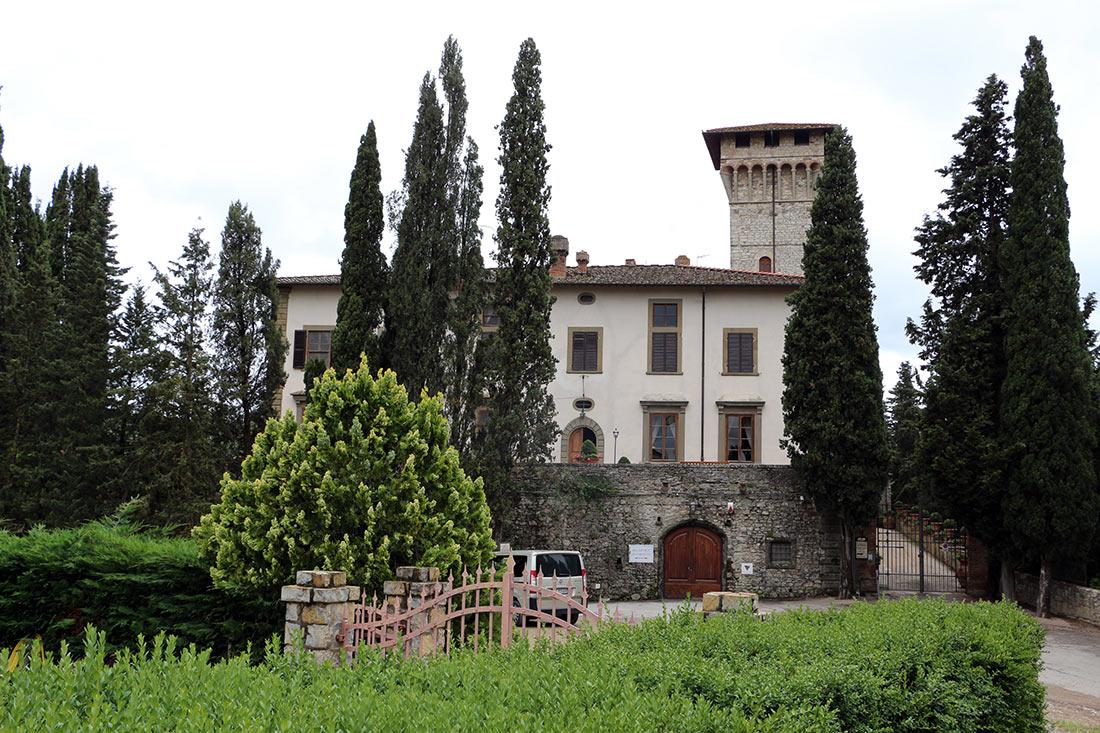 Замок Виккиомаджо
