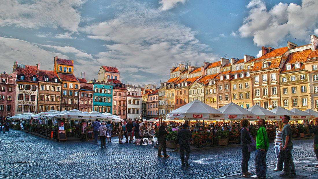 Варшавский старый рынок
