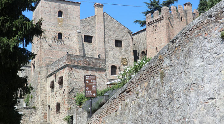 Замок Чини в Монселиче (Castello Cini Monselice)