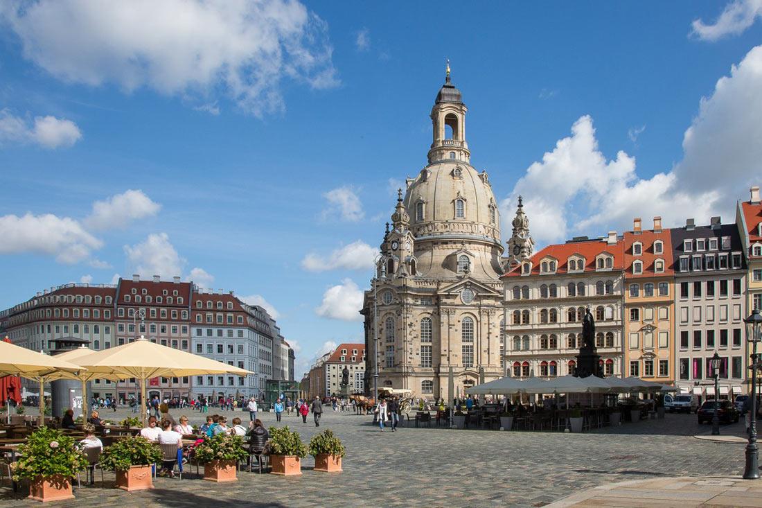 Фрауэнкирхе в Дрездене