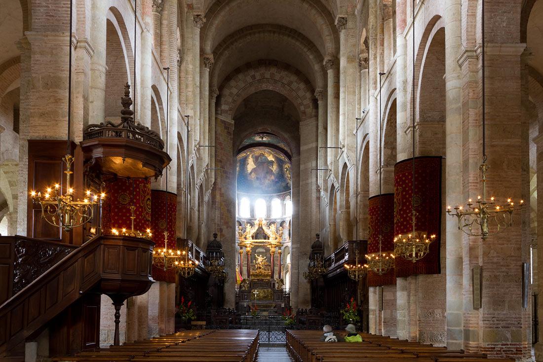 Базилика Сен-Сернен в Тулузе