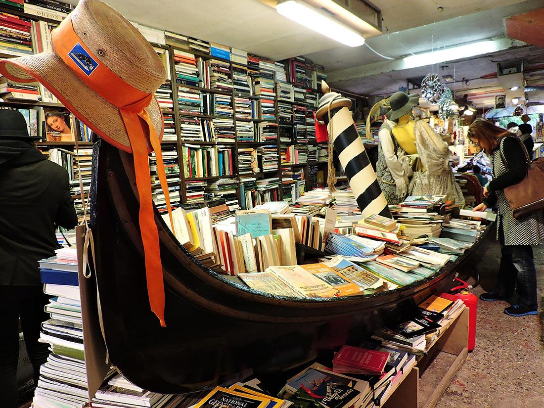 Книжный магазин Acqua Alta