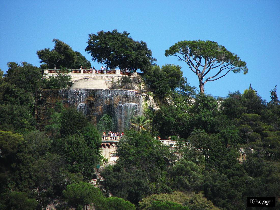 Замковая гора в Ницце