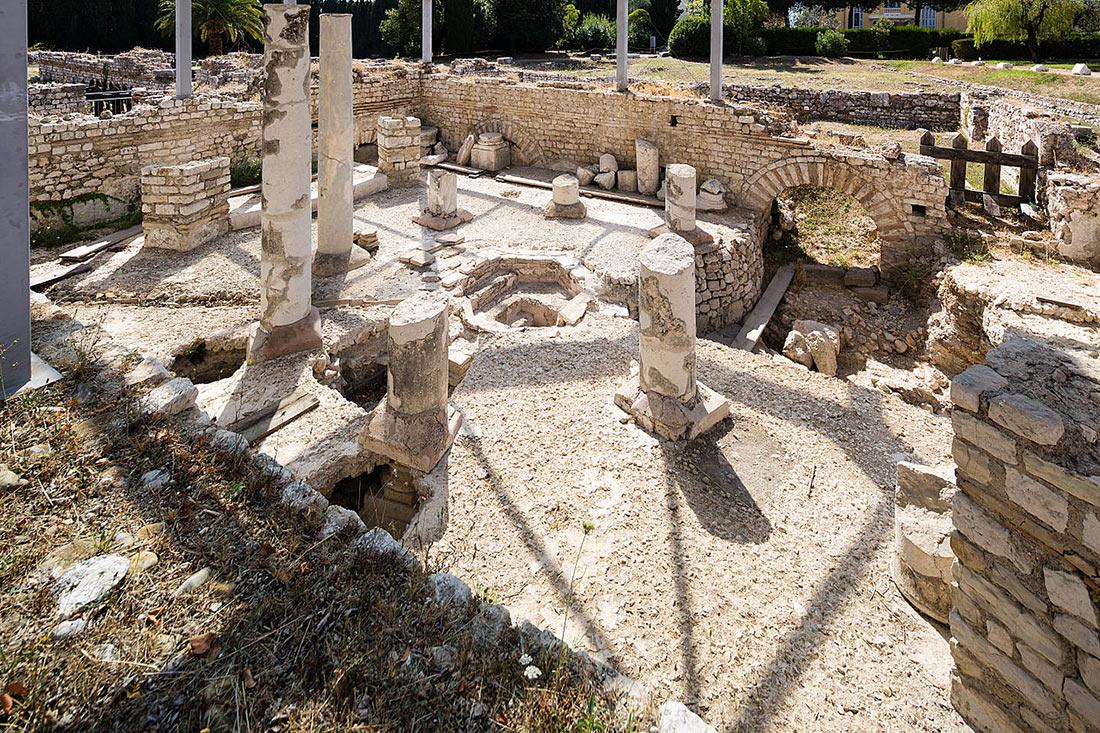 Римский холм (холм Симье) в Ницце