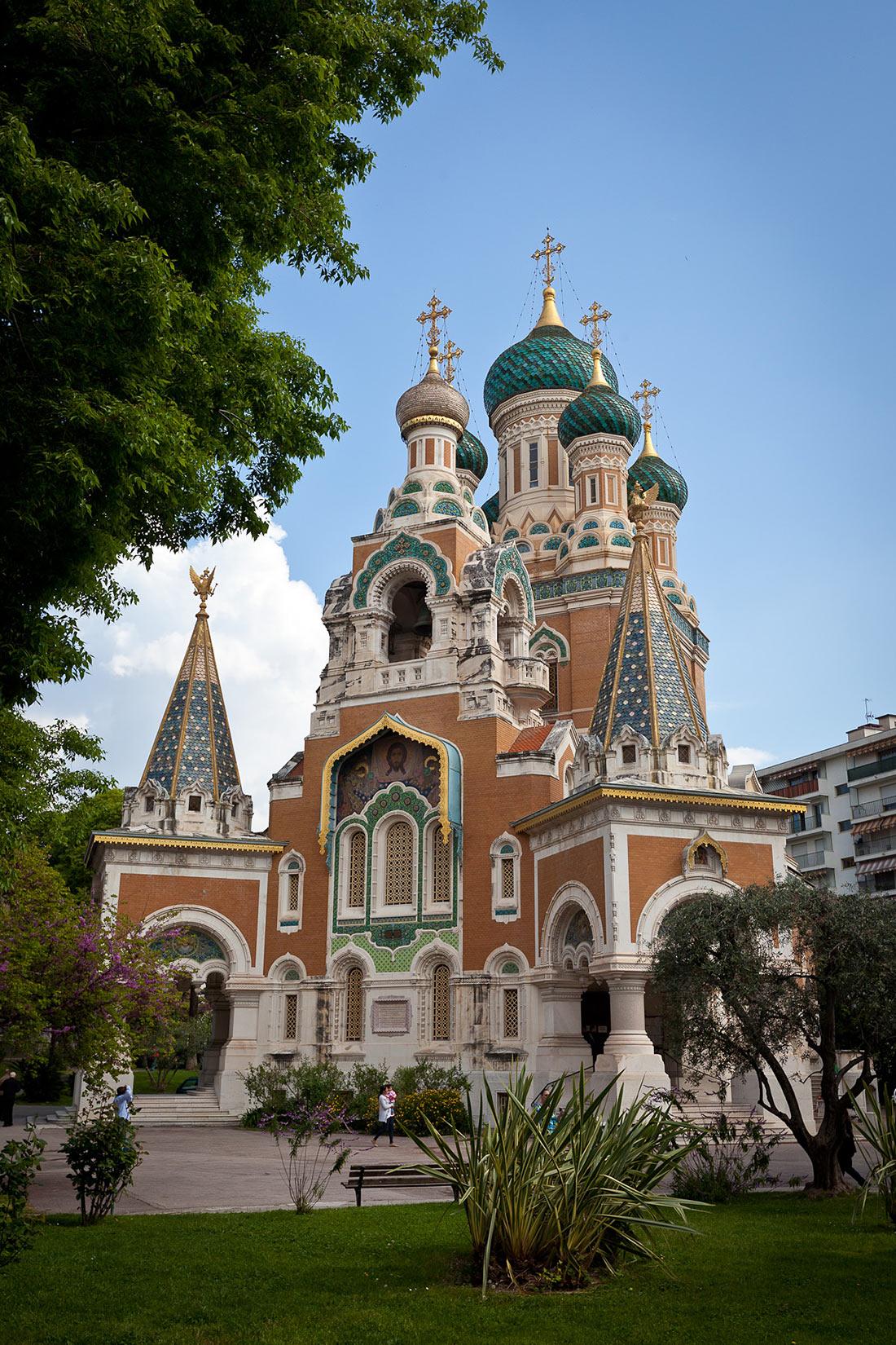 Православный собор Святого Николая в Ницце