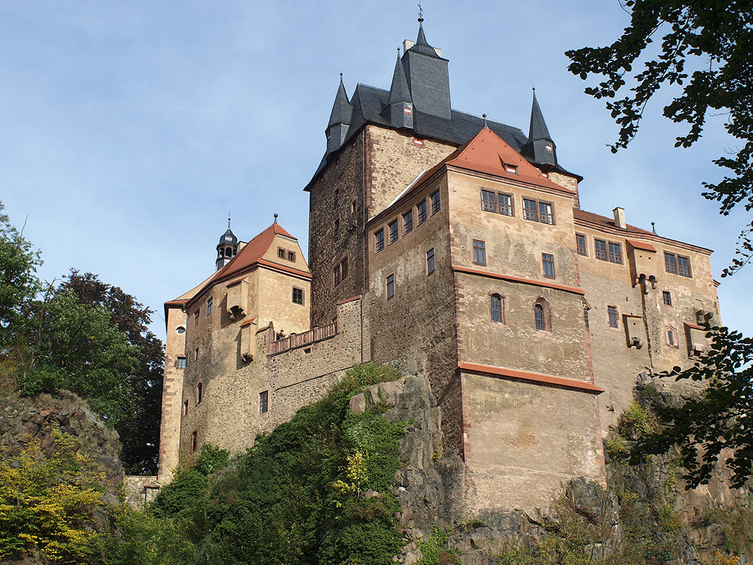 замок Крибштайн