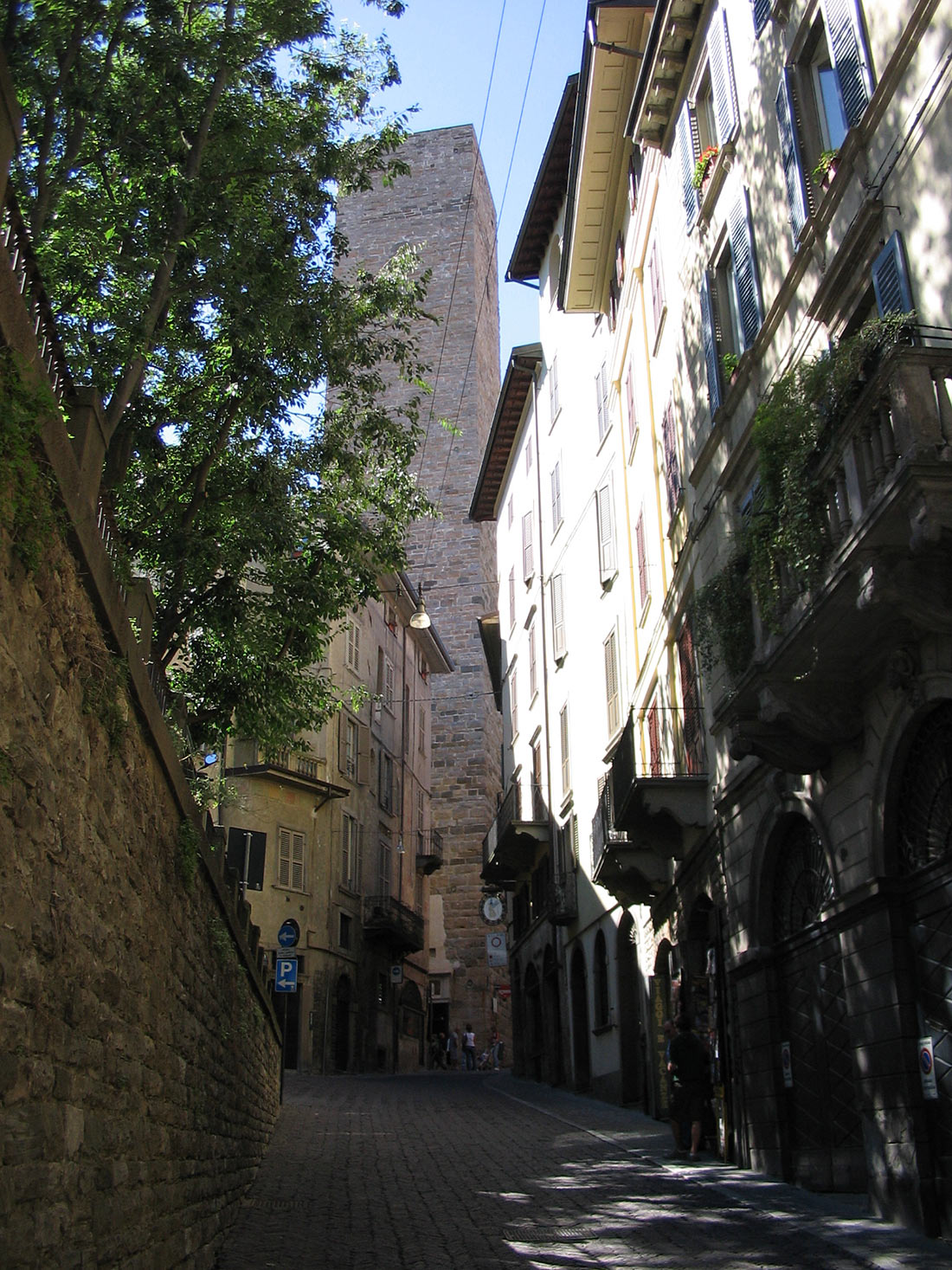 Древнеримские дороги Бергамо