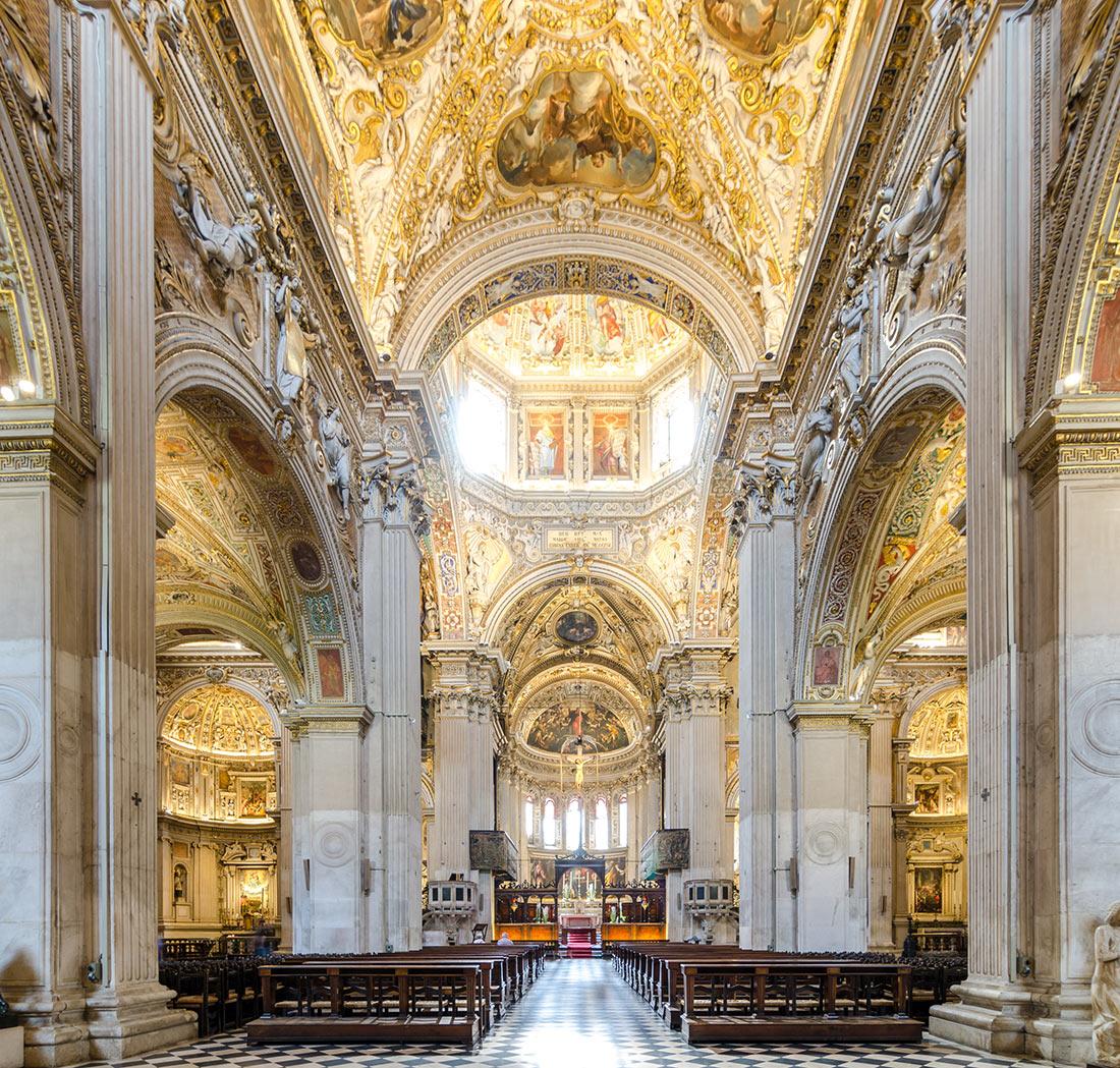 Базилика Пресвятой Девы Марии в Бергамо