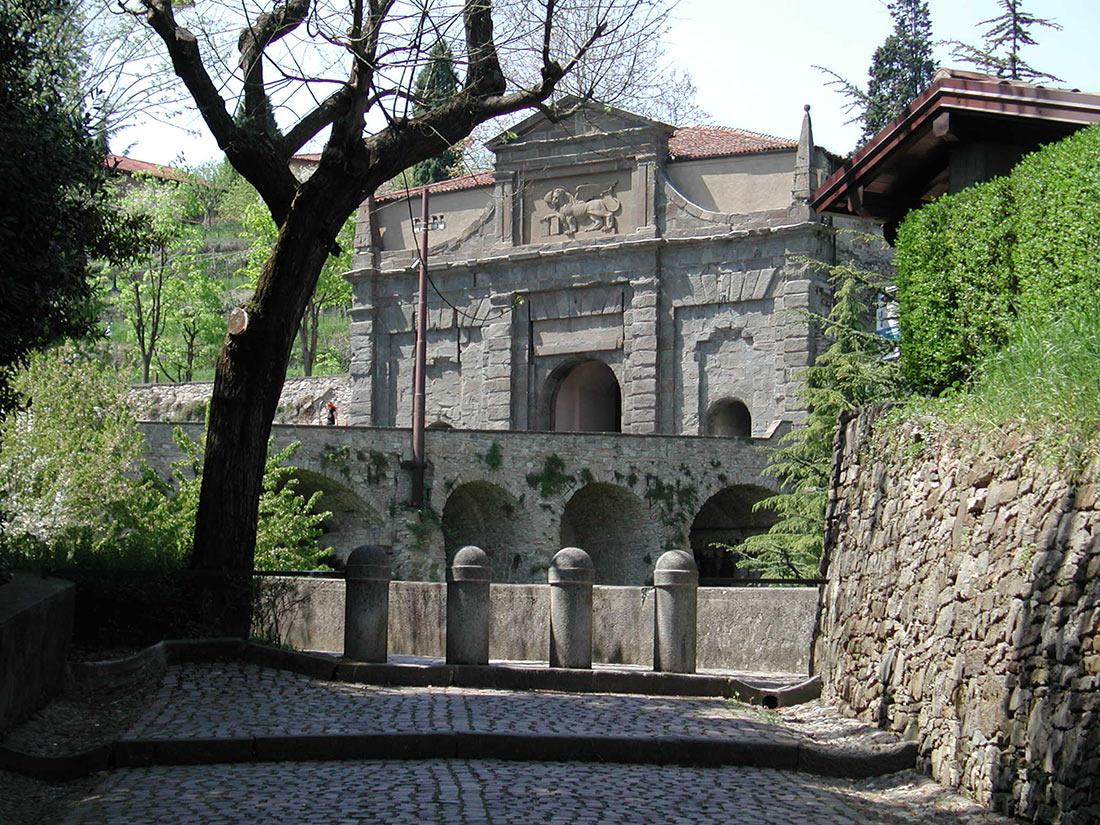 Венецианские стены Бергамо