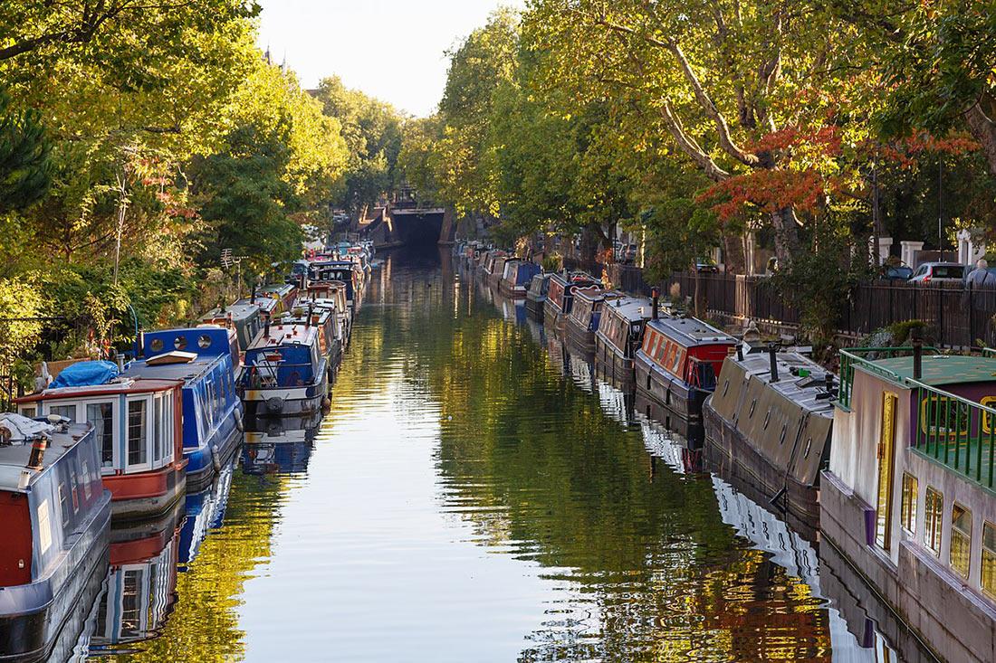 Маленькая Венеция в Лондоне