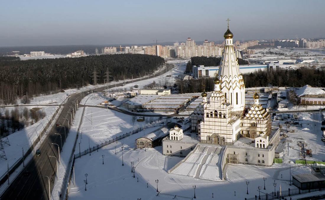 Всехсвятская церковь в Минске