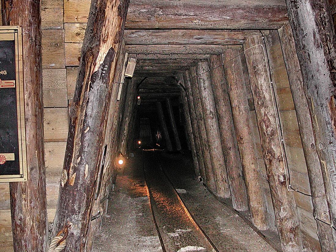 Соляная шахта Халляйн
