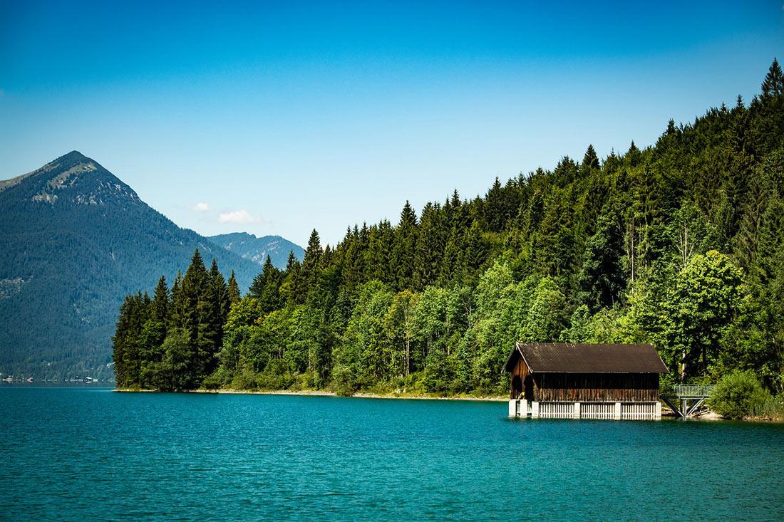 Озеро Вальхензе