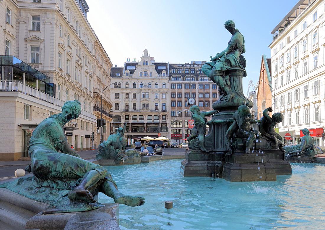фонтан Доннера (Доннербруннен)
