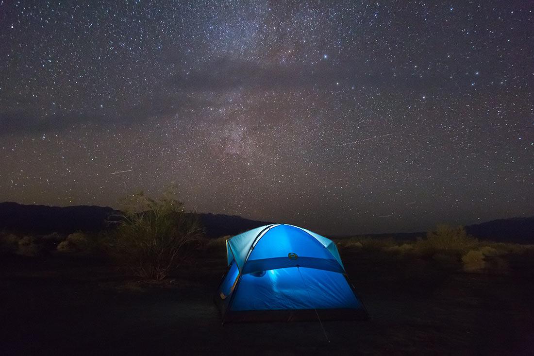 отпуск в палатке