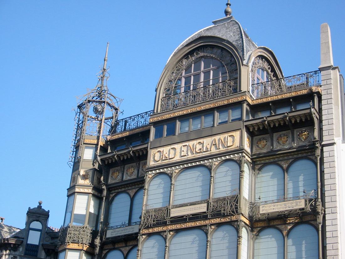 Музей музыкальных инструментов в Брюсселе